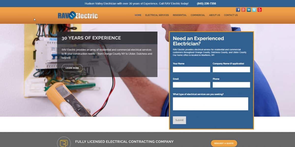 RAV Electric - Newburgh NY Electrician