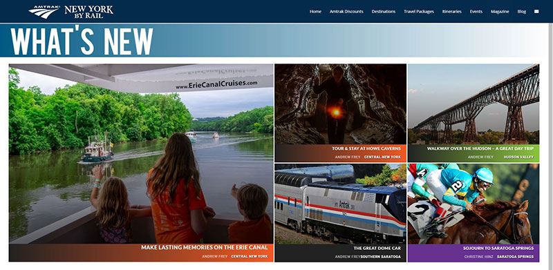 Amtrak New York by Rail